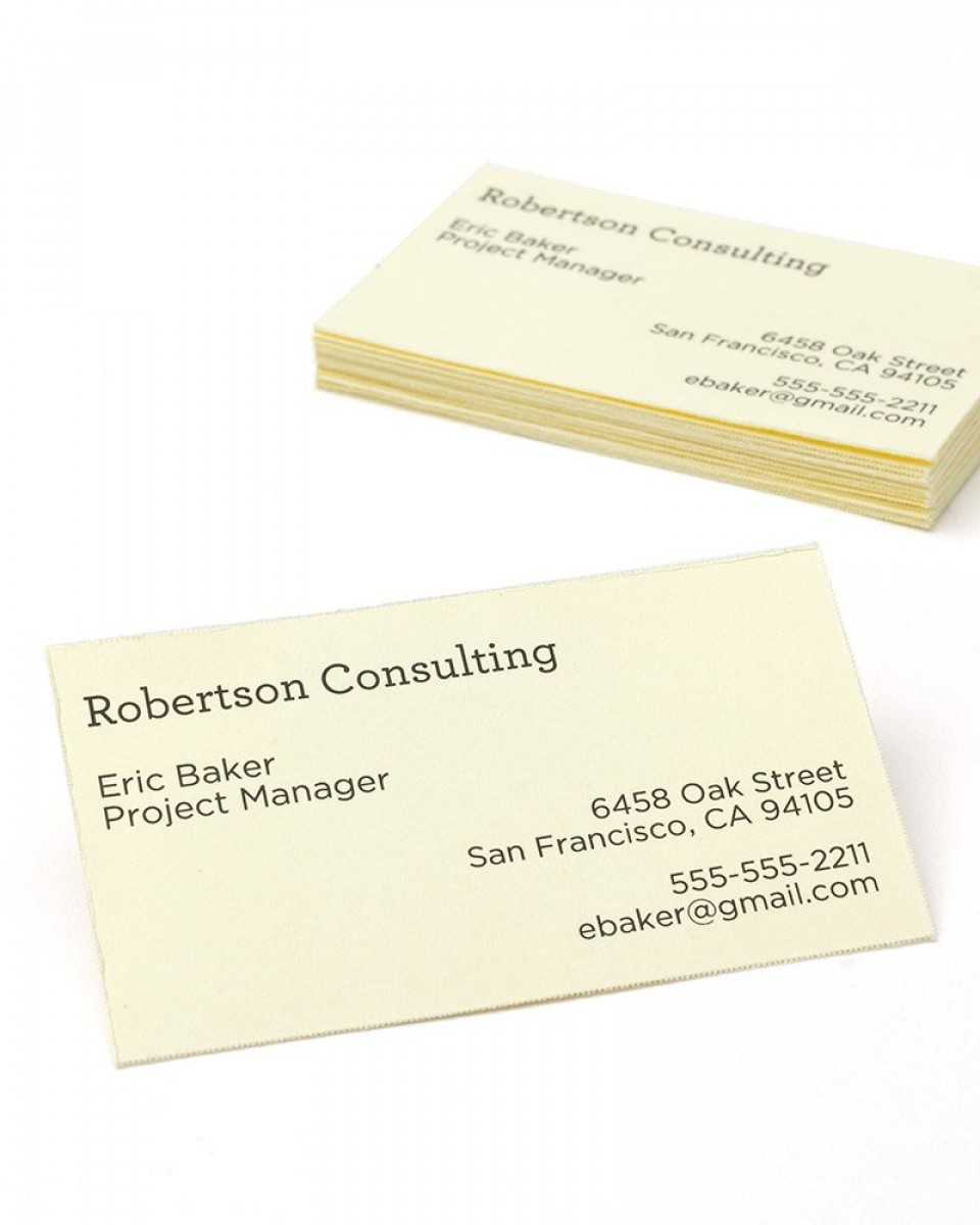 Print At Home Ivory Business Cards - 750 Count Regarding Gartner Business Cards Template