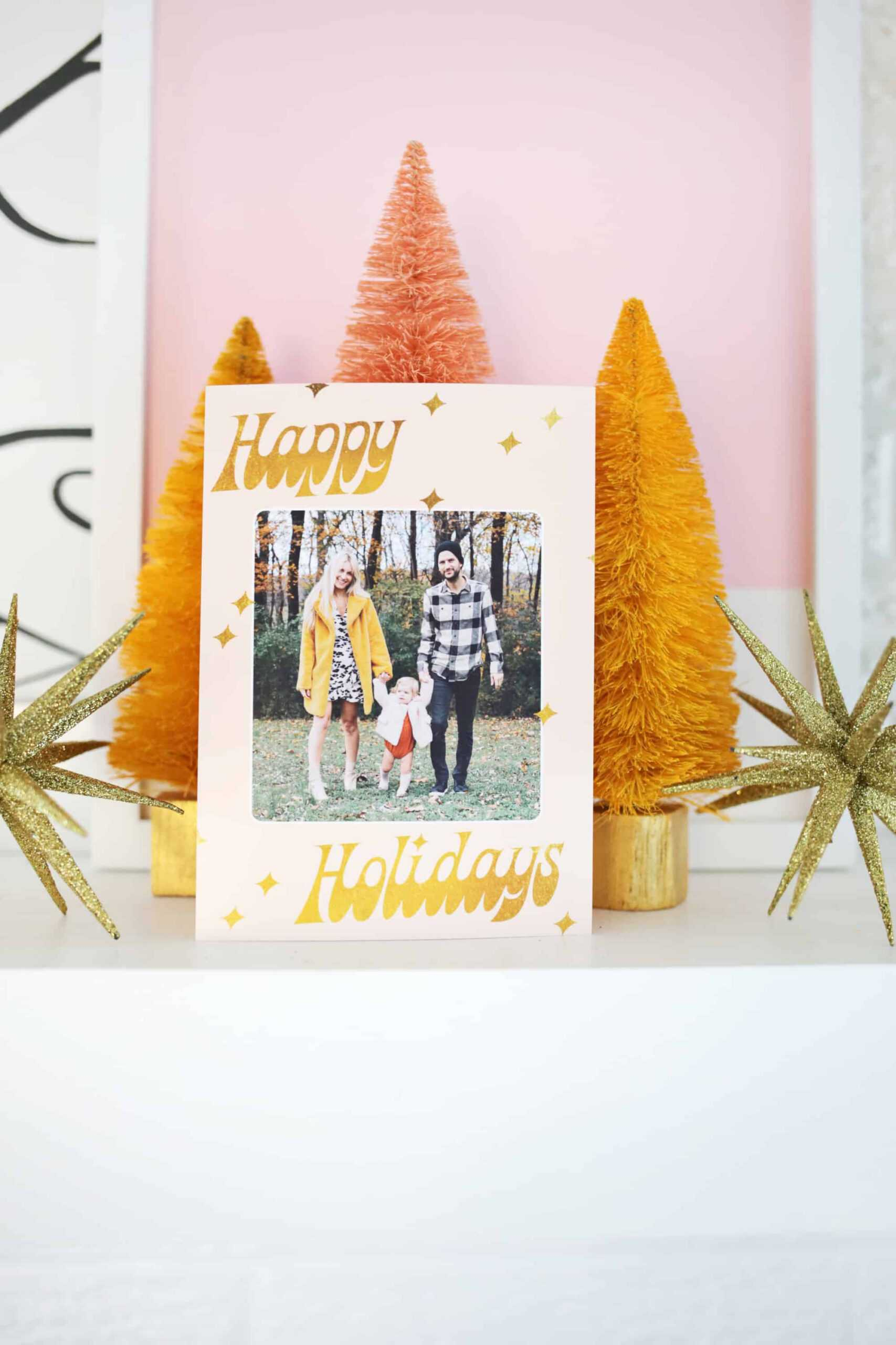 Print Your Own Holiday Cards (Free Template Included!) - A with regard to Print Your Own Christmas Cards Templates