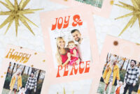 Print Your Own Holiday Cards (Free Template Included | Free with Print Your Own Christmas Cards Templates