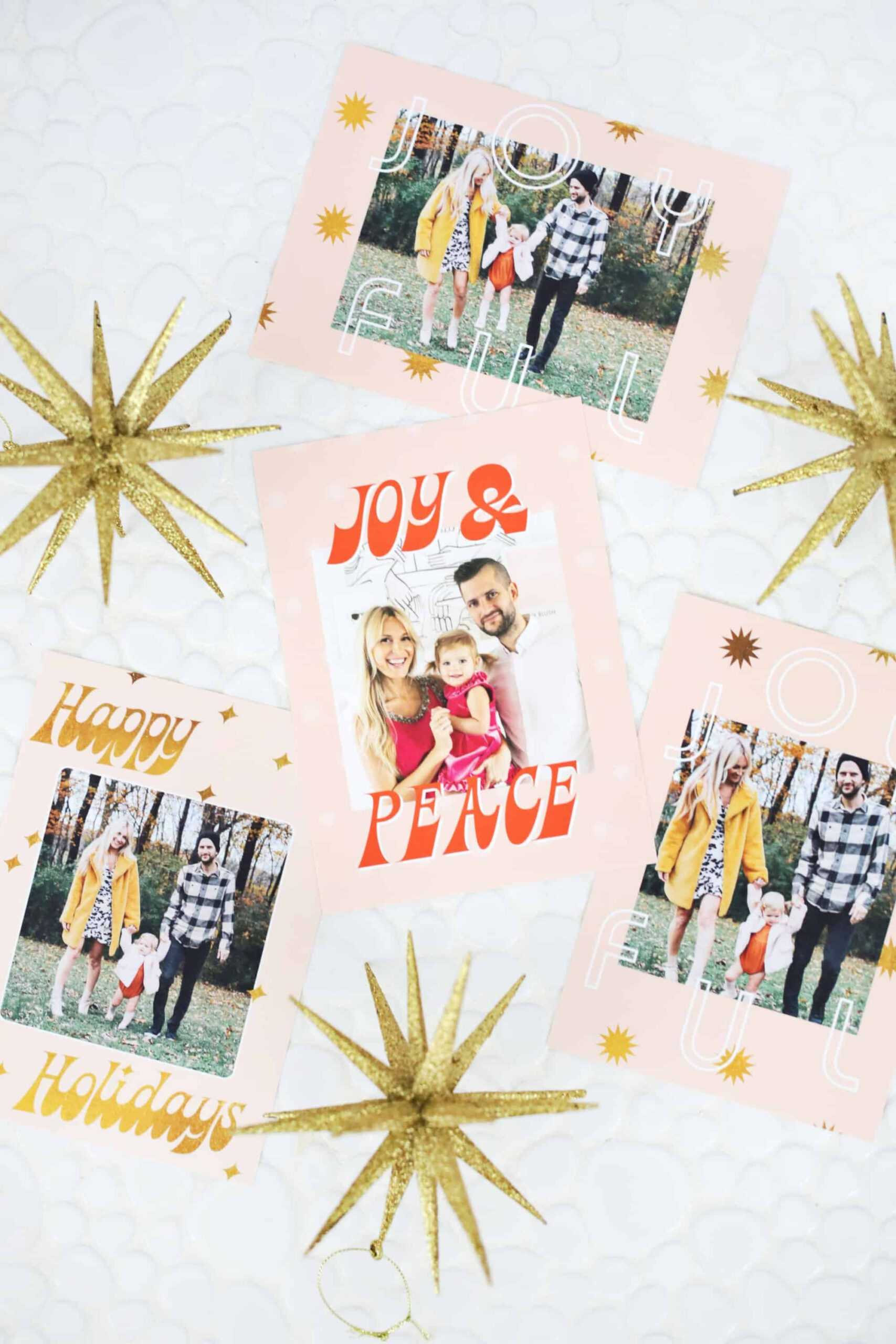 Print Your Own Holiday Cards (Free Template Included   Free with Print Your Own Christmas Cards Templates