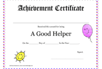 Printable Award Certificates For Teachers | Good Helper with regard to Student Of The Year Award Certificate Templates