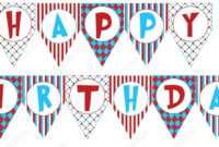 Printable Birthday Banner Template | Theveliger intended for Free Printable Party Banner Templates