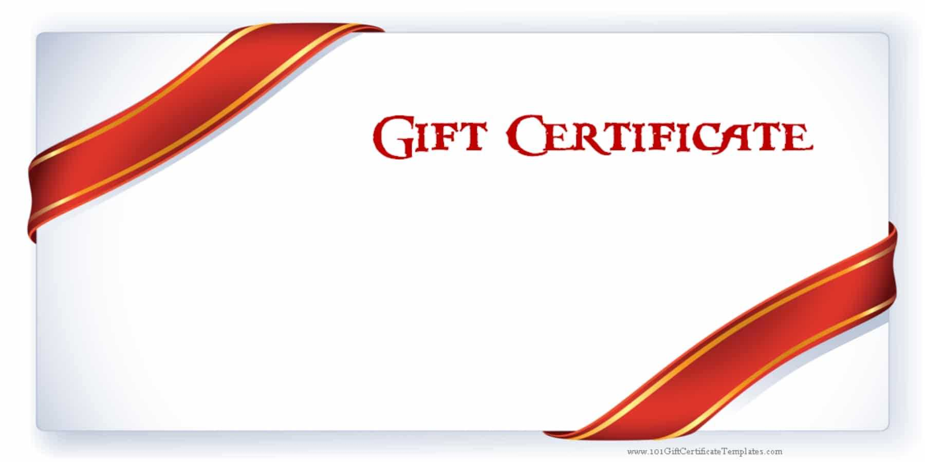 Printable Gift Certificate Templates in Dinner Certificate Template Free