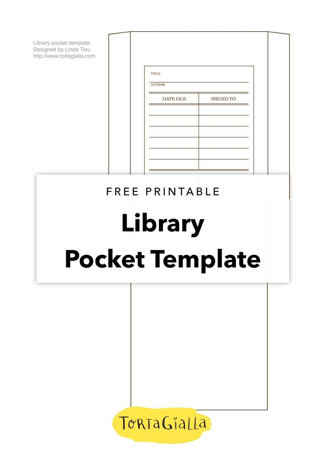 Printable Library Card Template - Free Download | Templates Intended For Library Catalog Card Template