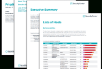 Prioritize Hosts Report – Sc Report Template   Tenable® for Nessus Report Templates