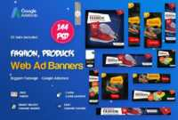 Product Banners Ads Template Psd | Web Banners – Ads | Ads intended for Product Banner Template