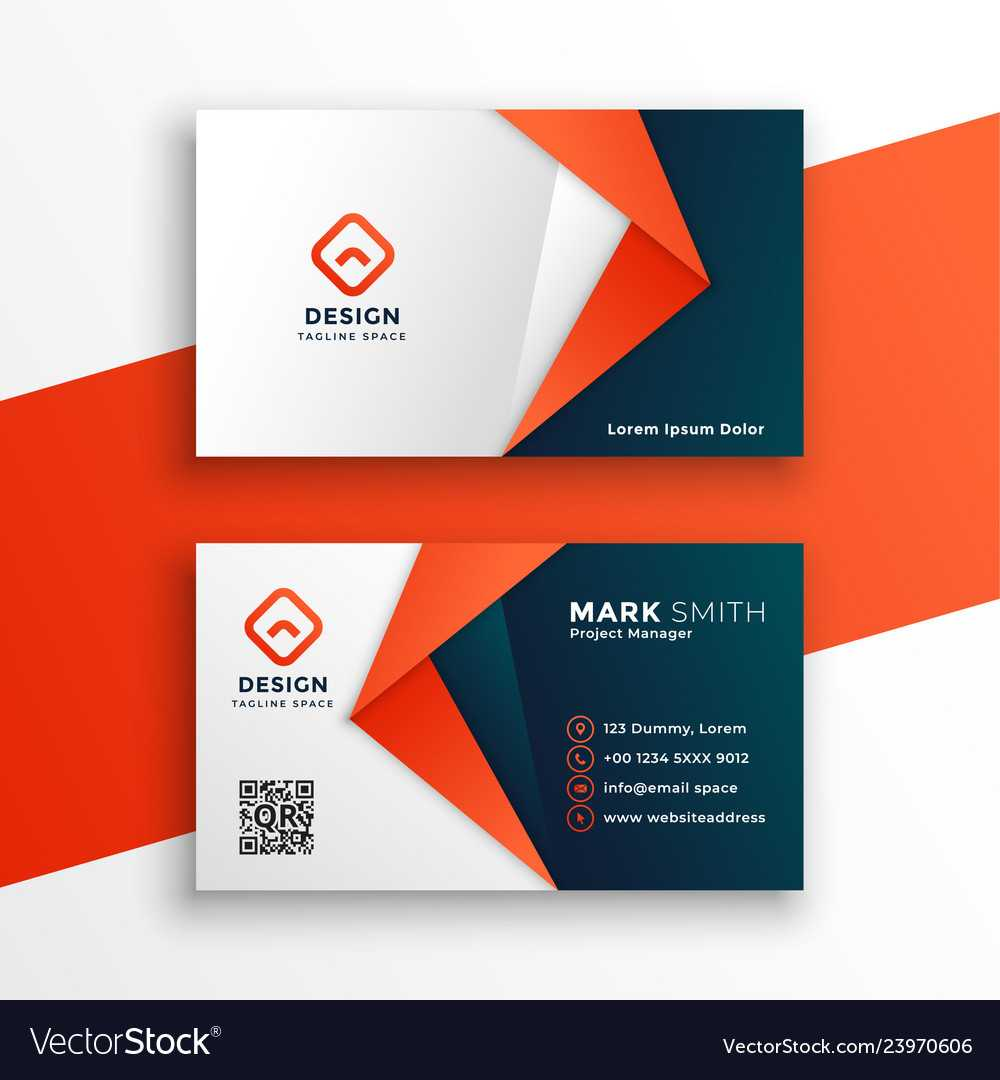 Professional Business Card Template Design Intended For Buisness Card Template