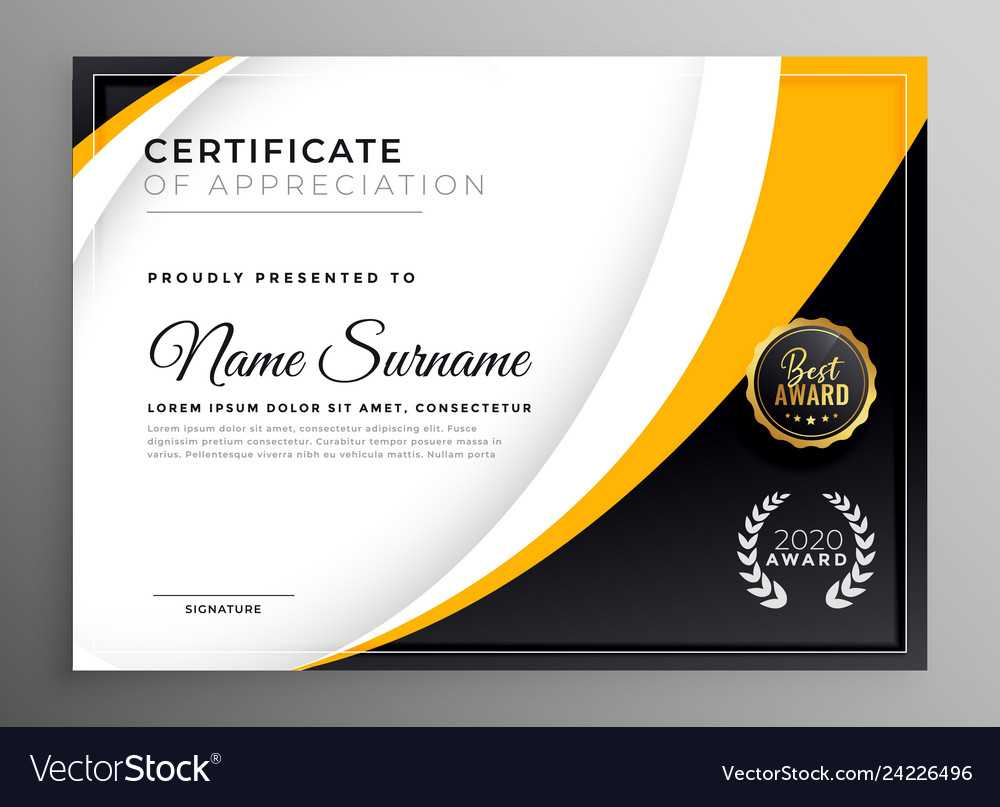 Professional Certificate Template Diploma Award in Professional Award Certificate Template