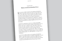 Professional Looking Book Template For Word, Free – Used To Tech With How To Create A Book Template In Word