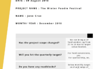 Progress Report: How To Write, Structure And Make It in Research Project Progress Report Template