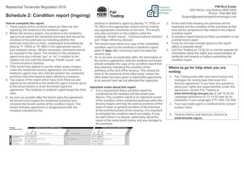 Property Inspection Manager inside Property Condition Assessment Report Template