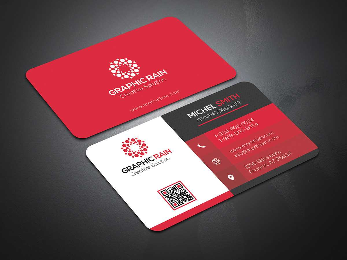 Psd Business Card Template On Behance in Template Name Card Psd