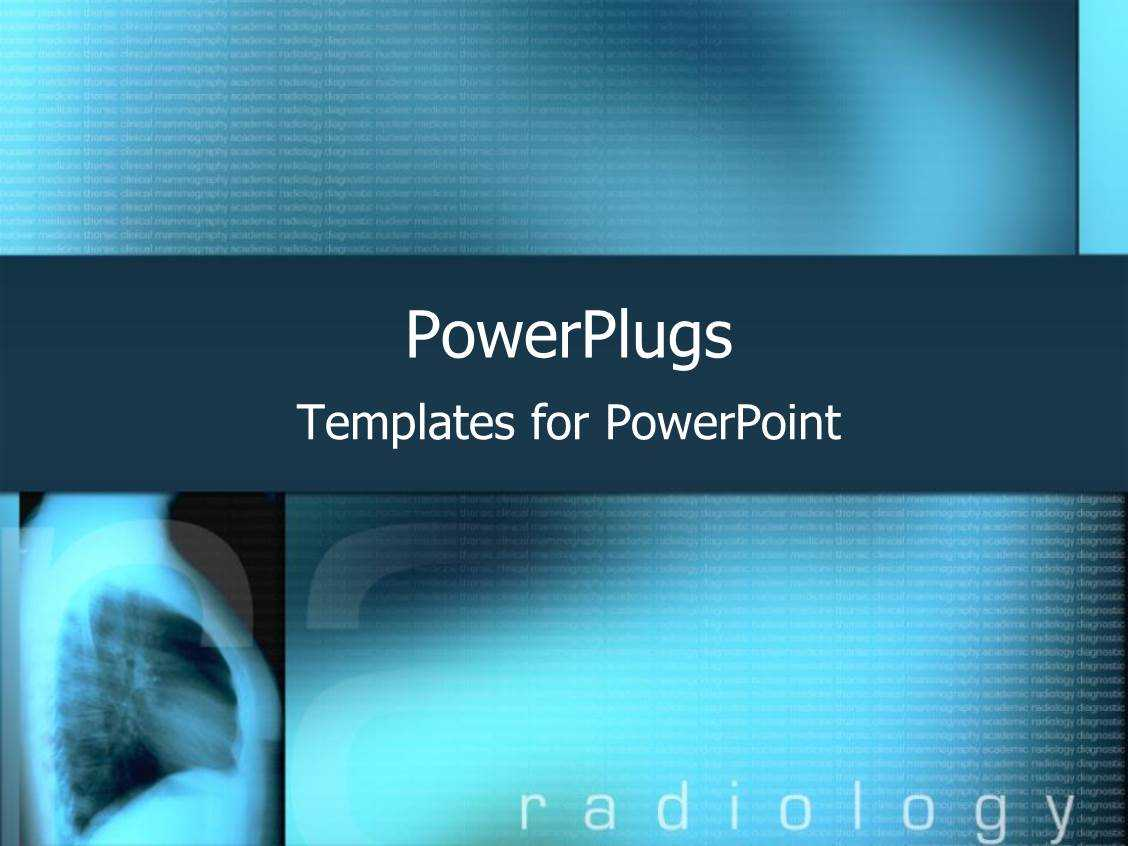 Radiology Powerpoint Templates W/ Radiology Themed Backgrounds In Radiology Powerpoint Template
