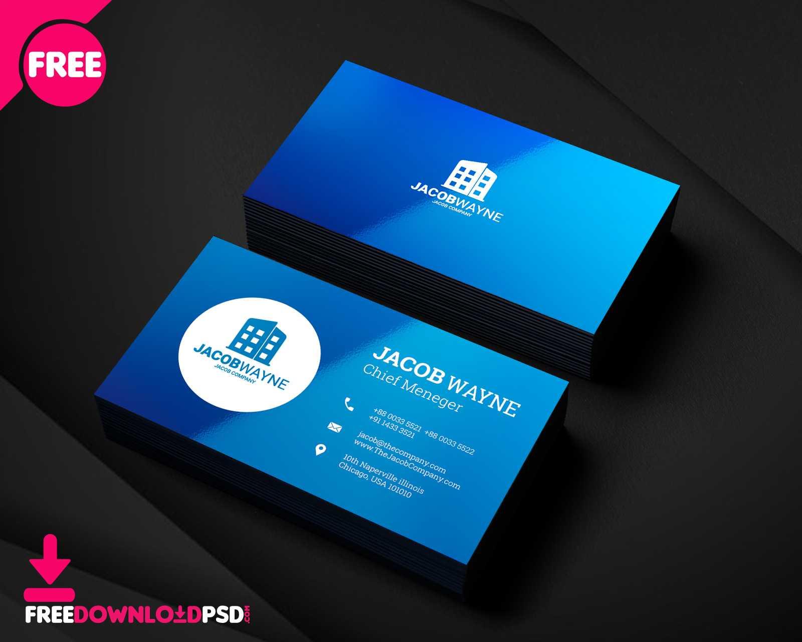 Real Estate Business Card Psd   Freedownloadpsd regarding Visiting Card Psd Template