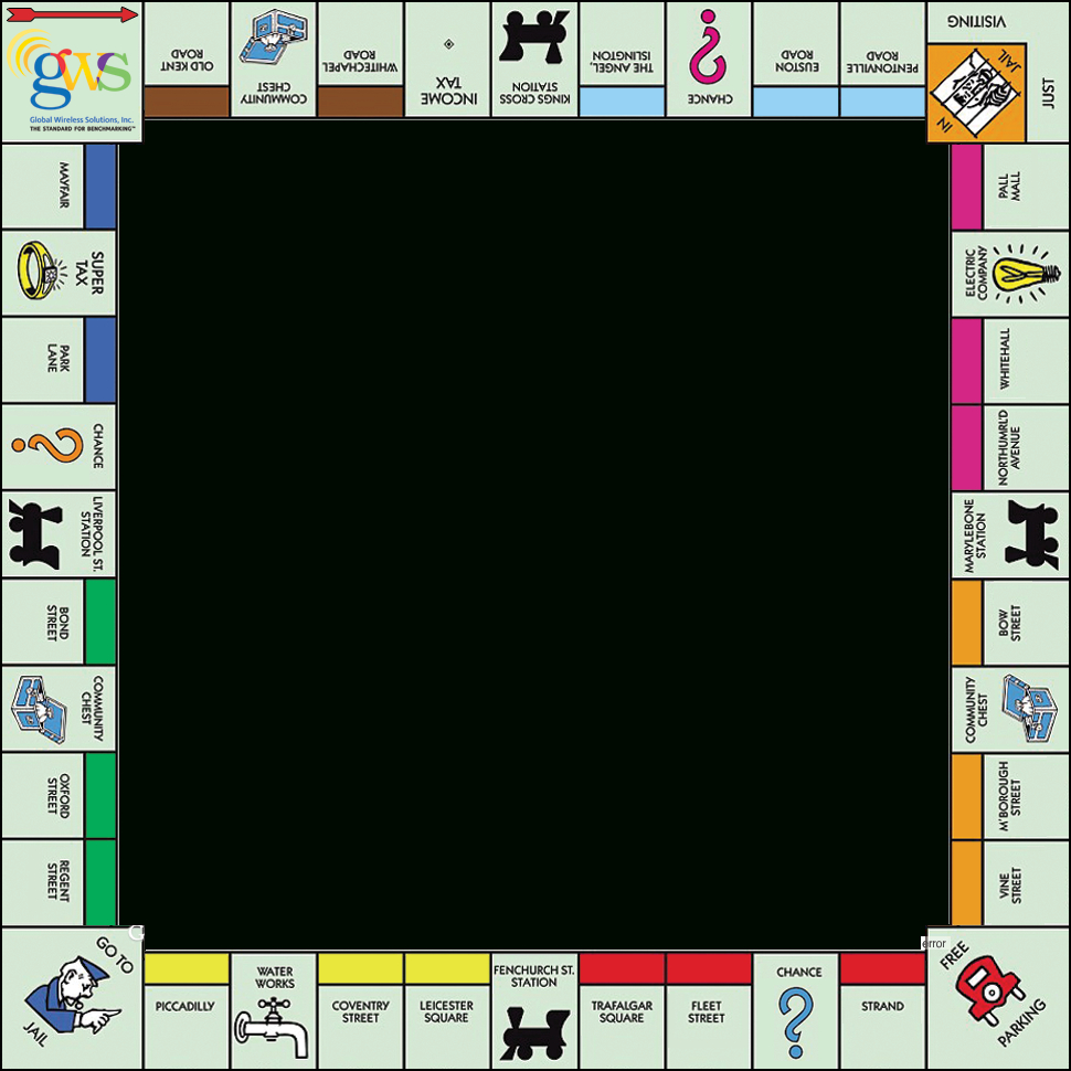 Relay Monopoly Game Board Template - Google Search Pertaining To Chance Card Template