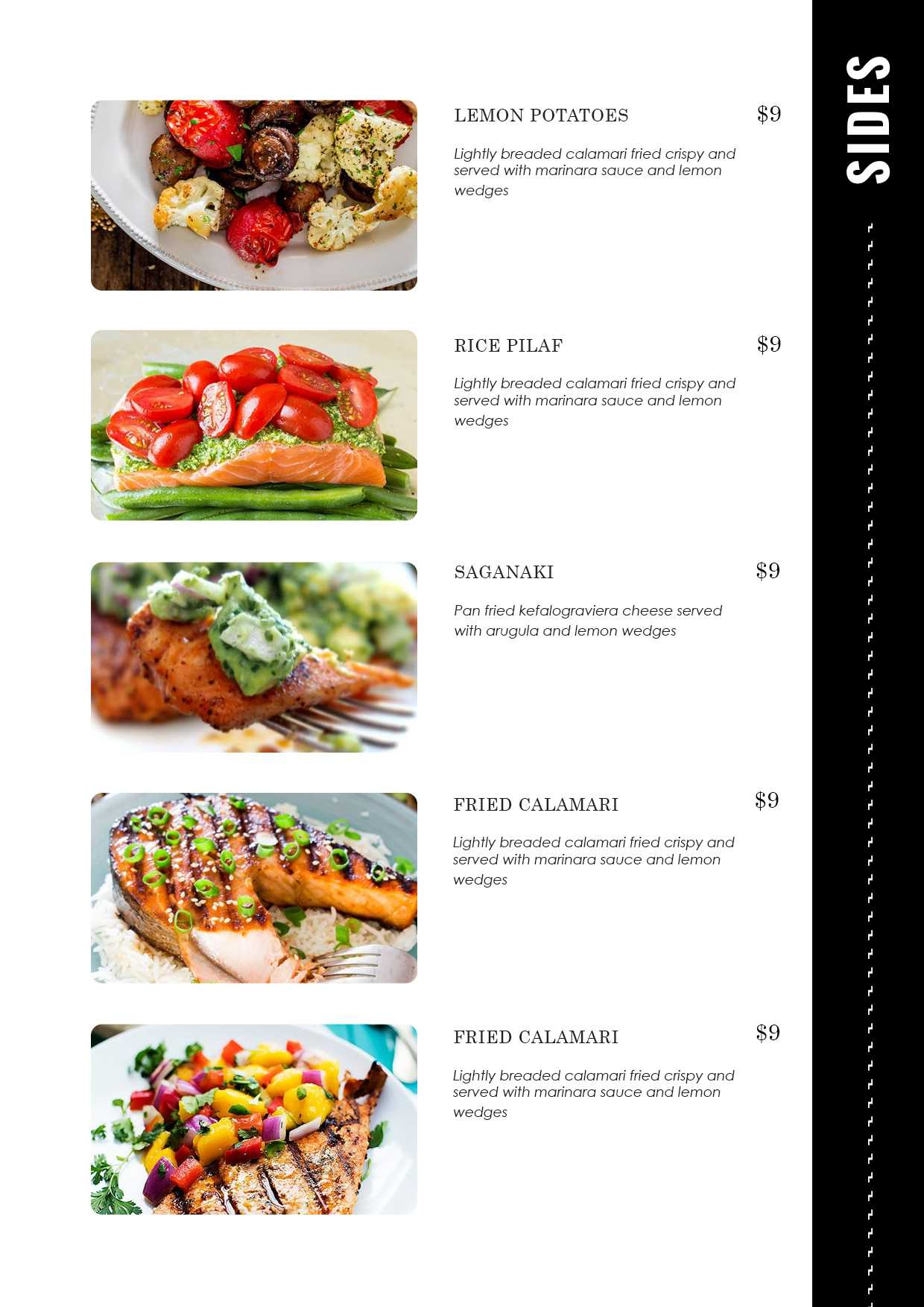 Restaurant Menu - Id11 pertaining to Free Cafe Menu Templates For Word