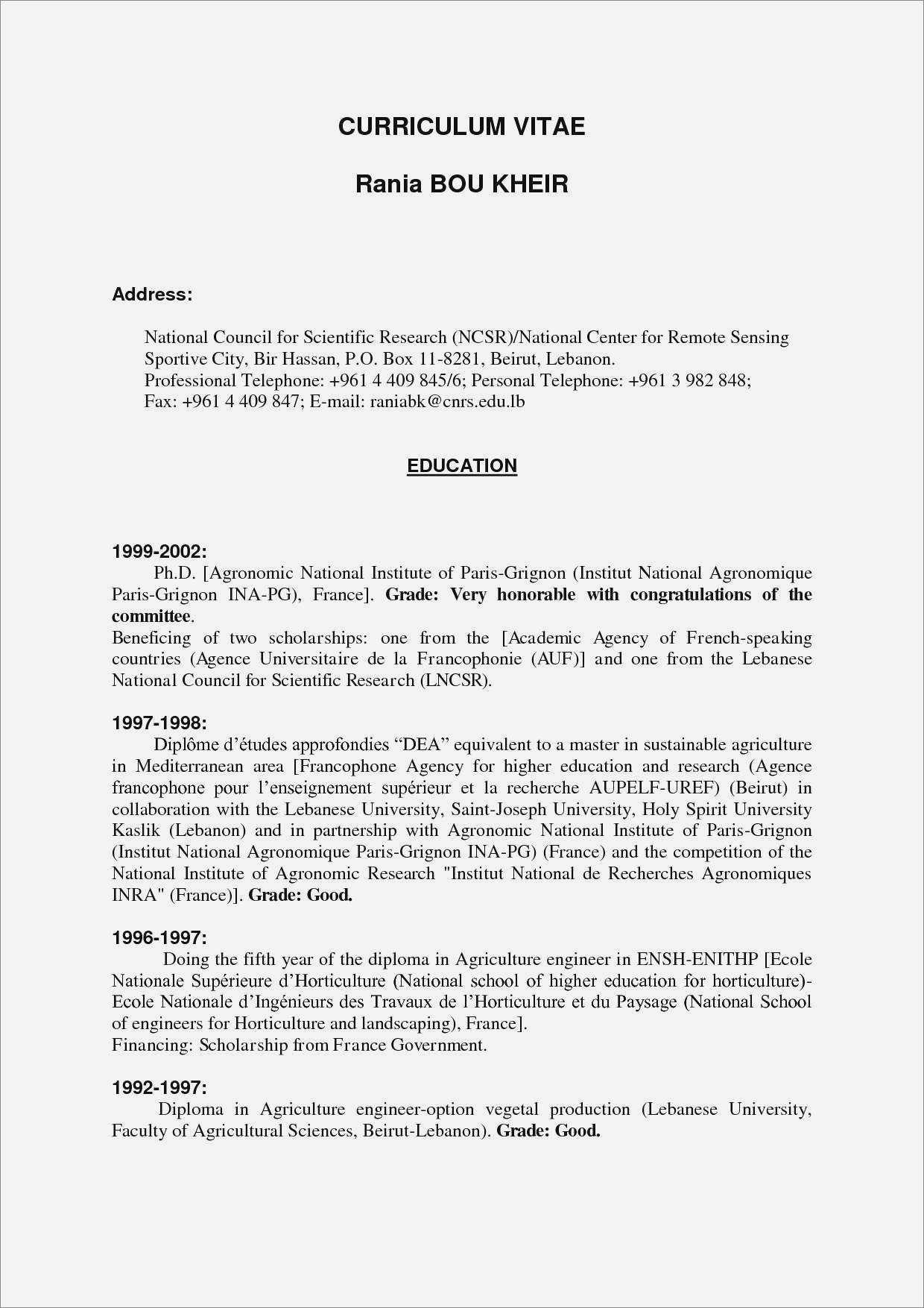 Resume Templates Word Free Download 2017 - Resume : Resume throughout Scientific Paper Template Word 2010