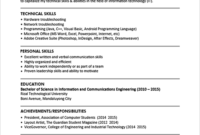 Resume Templates You Can Download | Jobstreet Philippines for College Student Resume Template Microsoft Word
