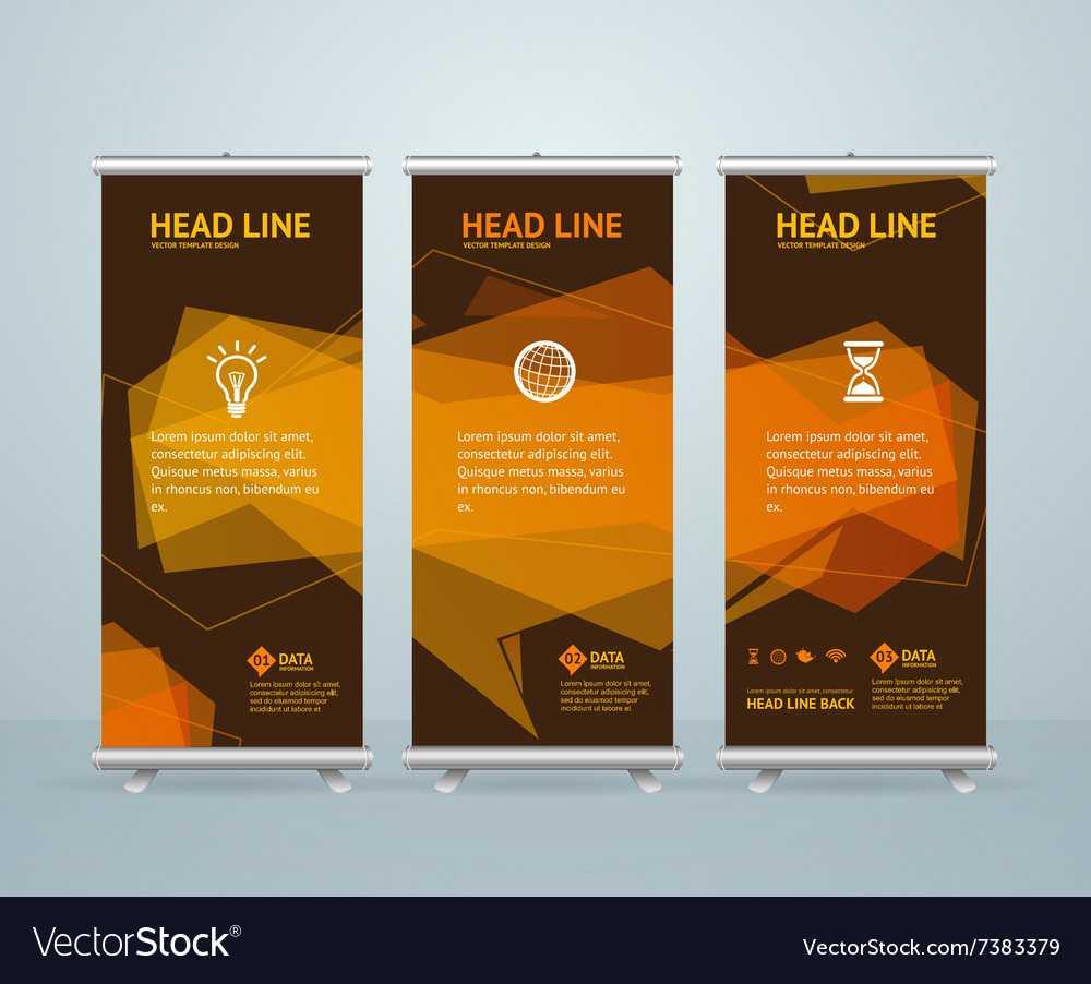 Roll Up Banner Stand Design Template Regarding Banner Stand Design Templates
