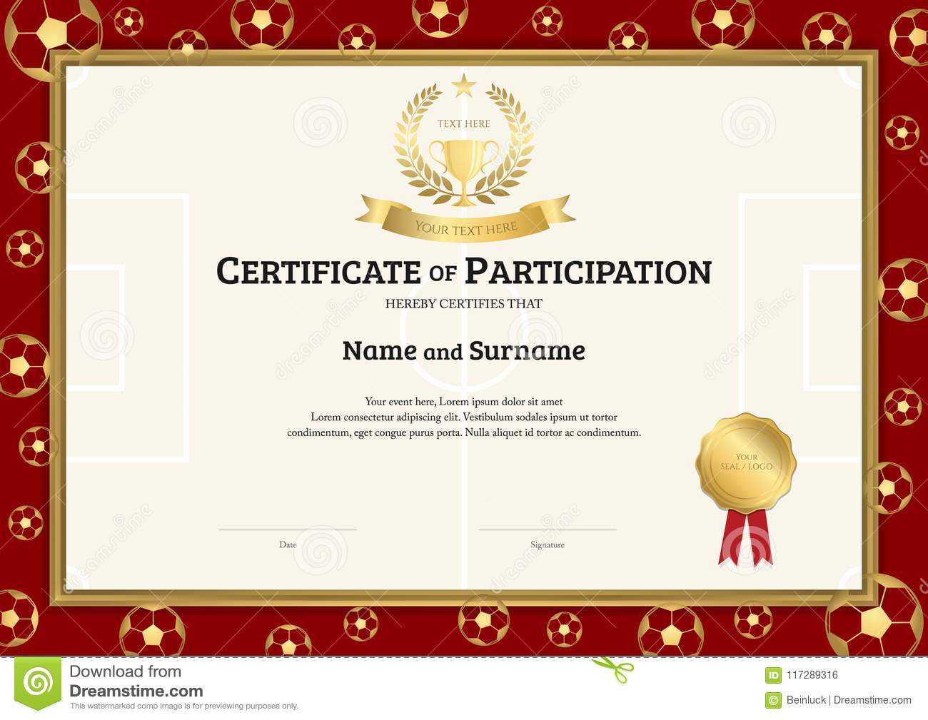Rugby League Certificate Templates - Atlantaauctionco Pertaining To Rugby League Certificate Templates