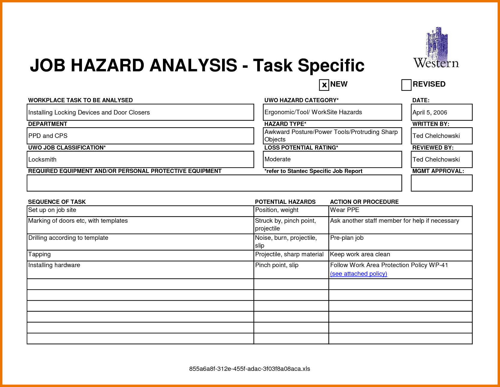 Safety Analysis Report Template - Atlantaauctionco Regarding Safety Analysis Report Template