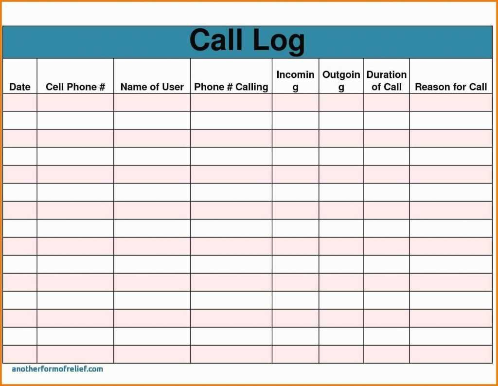 Sales Call Report Template Free Also Daily Excel Unique intended for Sales Call Report Template