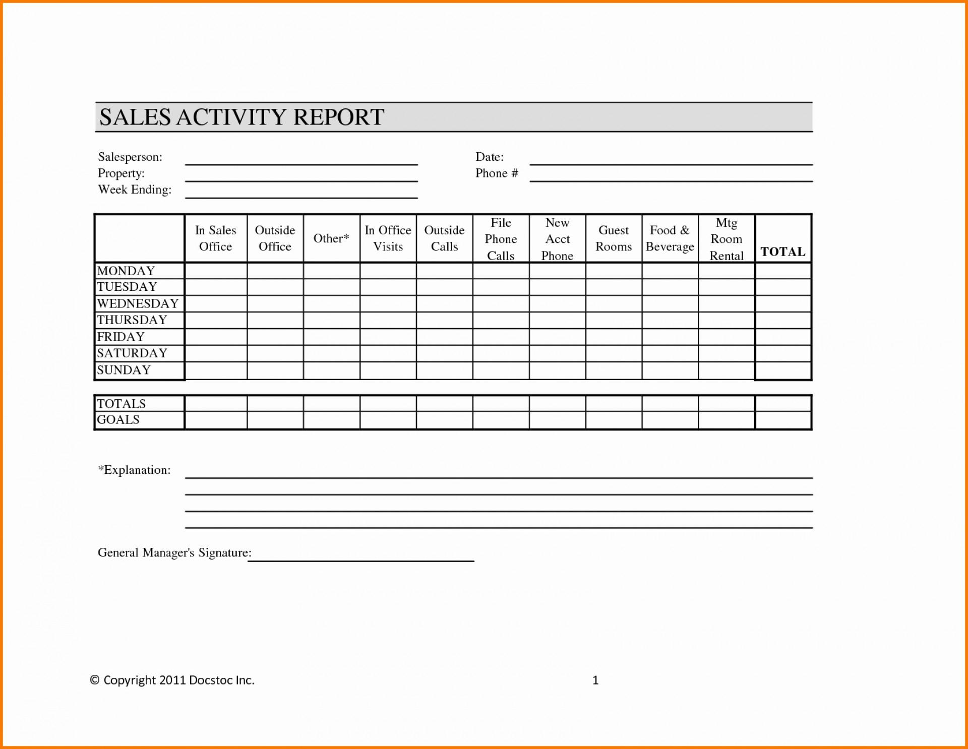 Sales Visit Report Template Downloads - Atlantaauctionco for Sales Visit Report Template Downloads