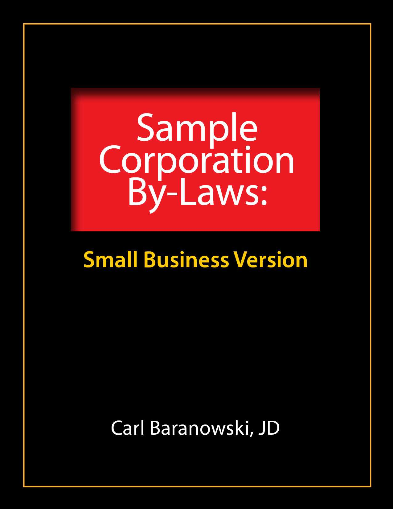 Sample Corporate Bylaws - Evergreen Small Business with regard to Corporate Bylaws Template Word