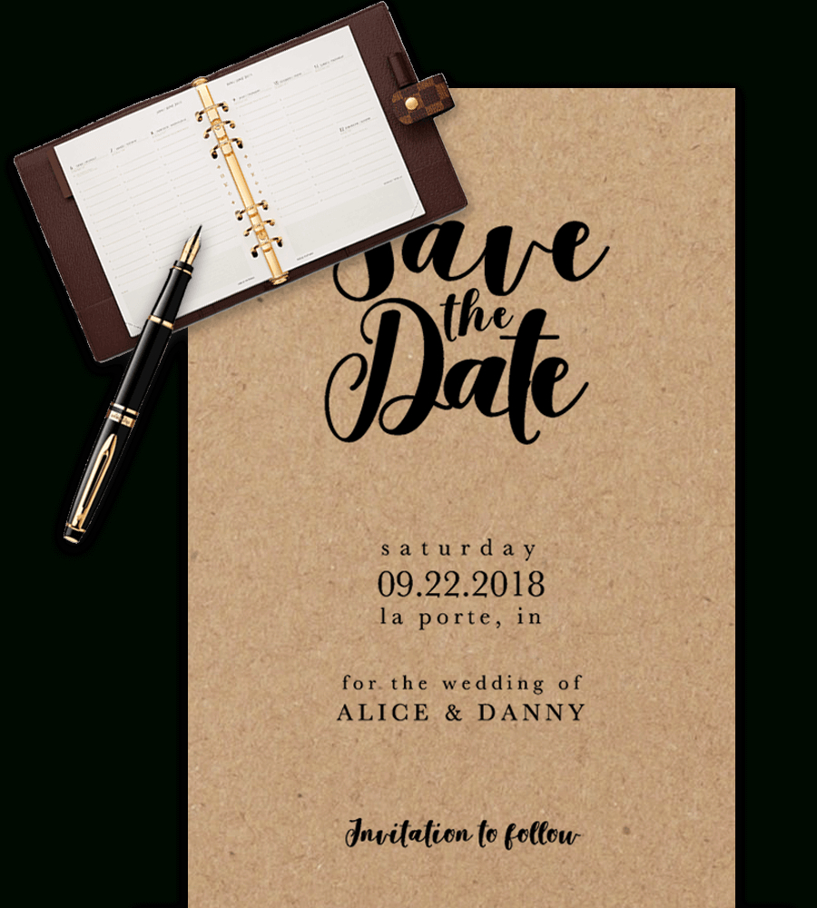 Save The Date Templates For Word [100% Free Download] Regarding Save The Date Templates Word