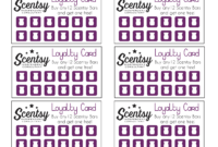 Scentsy Loyalty Card … | Scentsy In 2019… – Free Printable with regard to Customer Loyalty Card Template Free