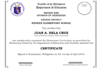 School Certificates Sample Templates   Certificate Templates throughout Certificate Templates For School