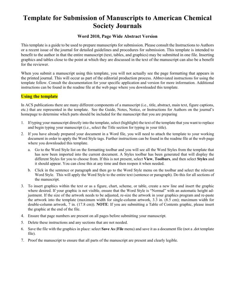 Scientific Paper Template Word 2010 - Atlantaauctionco Inside Scientific Paper Template Word 2010