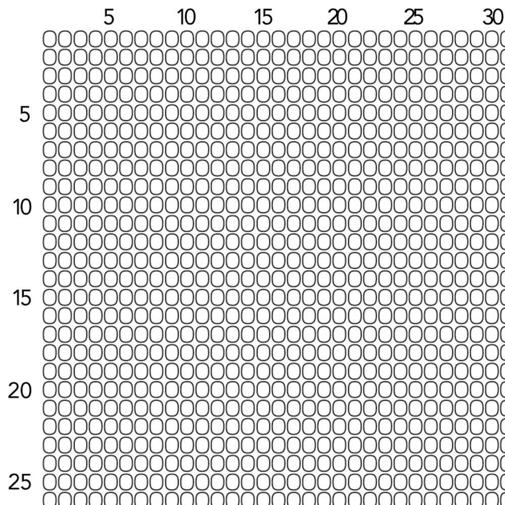 Seed Beading Graph Paper Size 11 | Loom Beading, Bead Loom Throughout Blank Perler Bead Template