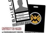 Shield Identity Card #vz38 – Advancedmassagebysara For Shield Id Card Template