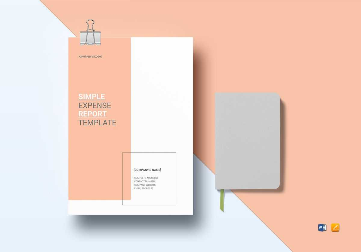 Simple Expense Report Template With Regard To Simple Report Template Word