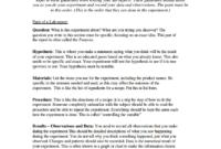 Simple Sample Lab Report | Science Chemistry, Essay Examples with Chemistry Lab Report Template