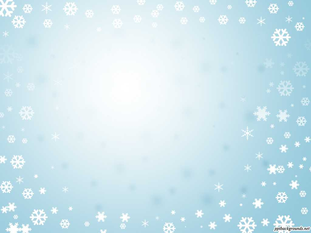 Snowflake Powerpoint Background Blue With Frame Of inside Snow Powerpoint Template