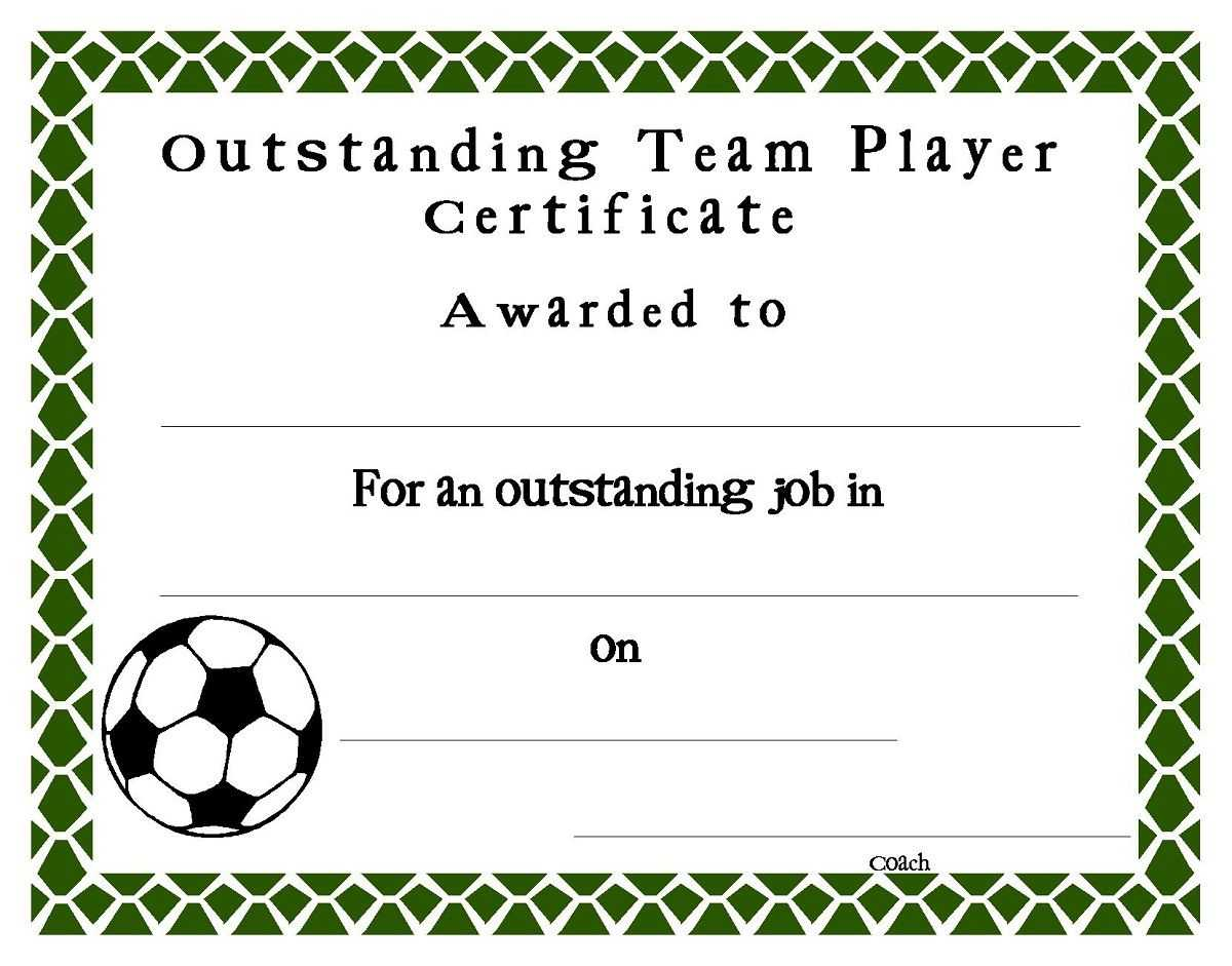 Soccer Award Certificates Template | Kiddo Shelter With Regard To Soccer Award Certificate Templates Free