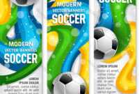 Soccer Ball Banner Of Football Sport Club Template Throughout Sports Banner Templates