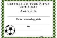 Soccer Certificate Templates Blank | K5 Worksheets throughout Soccer Certificate Template Free