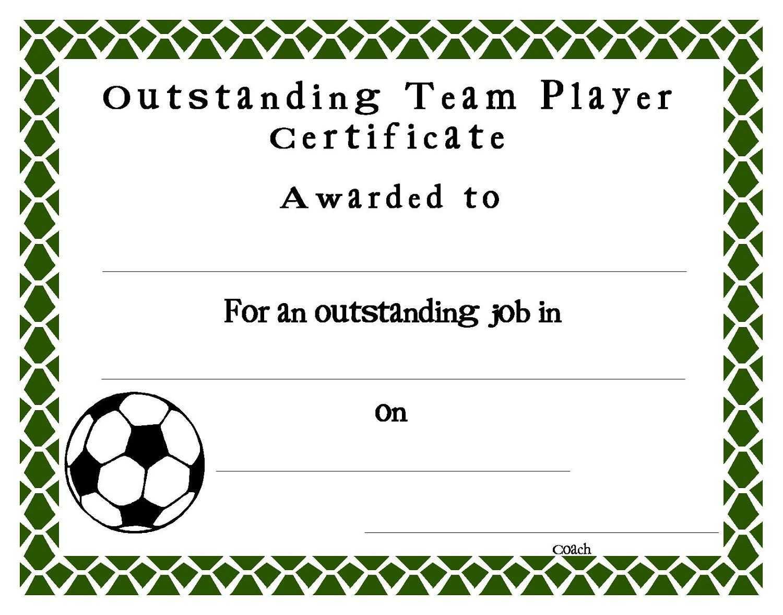 Soccer Certificate Templates Blank | K5 Worksheets Throughout Soccer Certificate Template Free