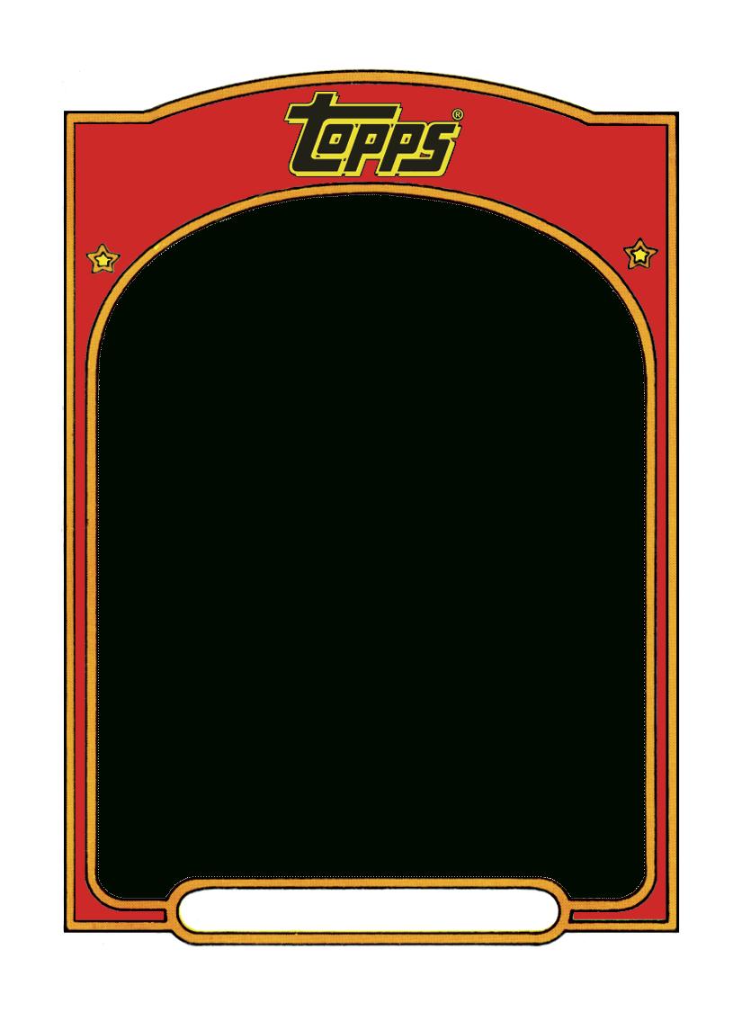 Sports Trading Card Templet.   Baseball Card Template regarding Baseball Card Size Template