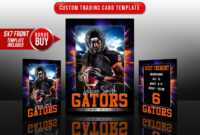Sports Trading Cards And 5X7 Template – Explode | Sports with Custom Baseball Cards Template