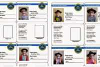Spy Id Card | We Also Sent Each Boy Home With His Own Set Of intended for Spy Id Card Template