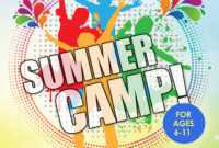 Summer Camp Flyer Idea | Summer Camp Crafts, Summer Camps with Summer Camp Brochure Template Free Download