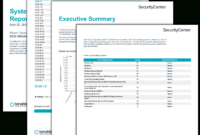 System Configuration Report – Sc Report Template   Tenable® for Nessus Report Templates