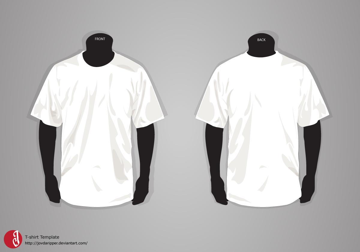 T-Shirt Template Updatejovdaripper.deviantart inside Blank T Shirt Design Template Psd
