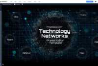 Tech Template – Magdalene Project Within High Tech Powerpoint Template
