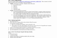 Template. Word Document Resume Template: Resume Word Format with regard to College Student Resume Template Microsoft Word