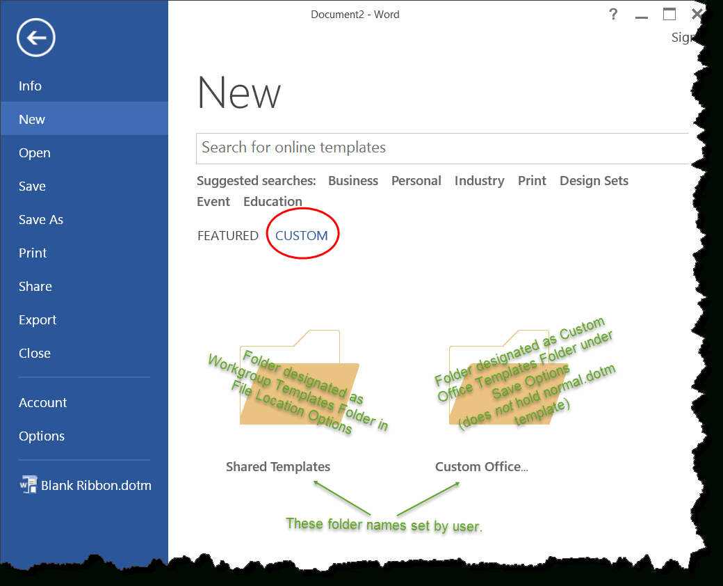Templates In Microsoft Word - One Of The Tutorials In The for Word 2010 Templates And Add Ins